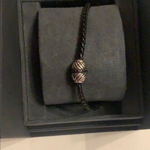 DAVID YURMAN BLACK DIAMOND BRACELET